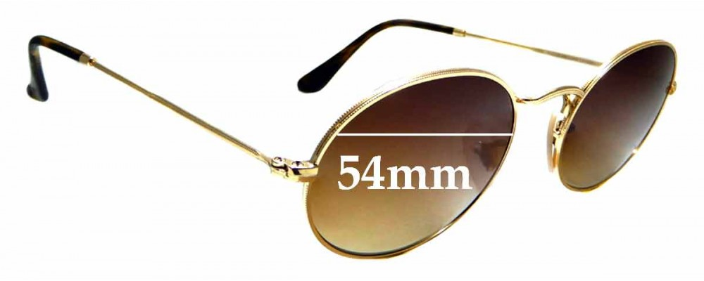 Sunglass Fix Sunglass Replacement Lenses for Ray Ban RB3547-N - 54mm Wide