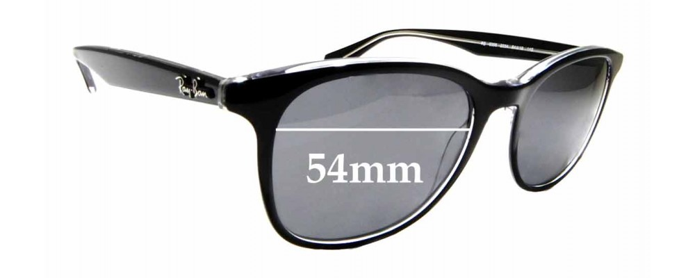 Sunglass Fix Sunglass Replacement Lenses for Ray Ban RB5356 - 54mm Wide