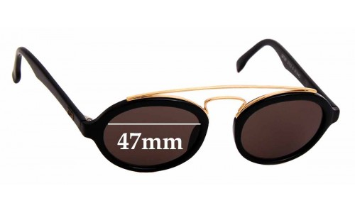Sunglass Fix Sunglass Replacement Lenses for Ray Ban B&L W0940 Gatsby Style 6 - 47mm Wide