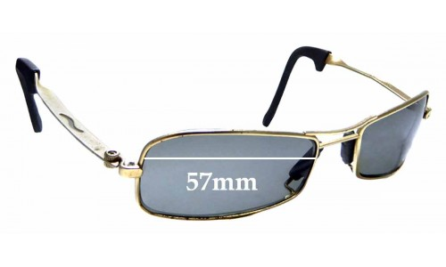 Sunglass Fix Sunglass Replacement Lenses for Ray Ban B&L Orbs Axis Square - 56mm Wide
