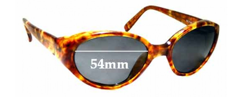 Sunglass Fix Sunglass Replacement Lenses for Ray Ban B&L W2789 Rituals - 54mm Wide