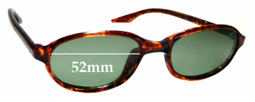 Sunglass Fix Sunglass Replacement Lenses for Ray Ban B&L W2838 - 52mm Wide