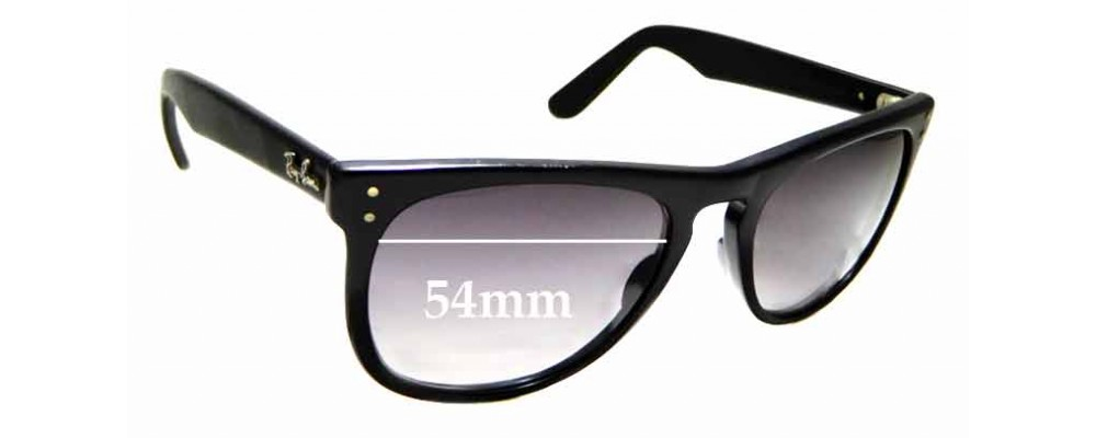 Sunglass Fix Sunglass Replacement Lenses for Ray Ban B&L Casablanca - 54mm Wide x 44.8mm Tall