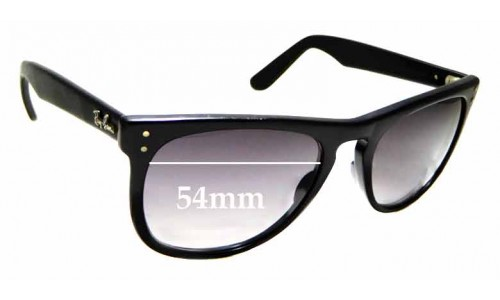 Sunglass Fix Sunglass Replacement Lenses for Ray Ban Casablanca Bausch and Lomb - 54mm wide x 44.8mm high
