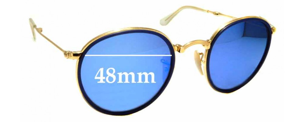 Sunglass Fix Sunglass Replacement Lenses for Ray Ban RB3517 - 48mm Wide
