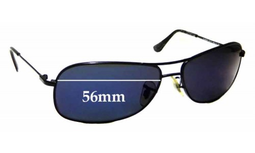Sunglass Fix Sunglass Replacement Lenses for Ray Ban Jr RJ9508S - 56mm wide
