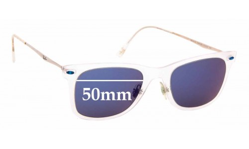 Sunglass Fix Sunglass Replacement Lenses for Ray Ban LightRay RB4210 - 50mm Wide