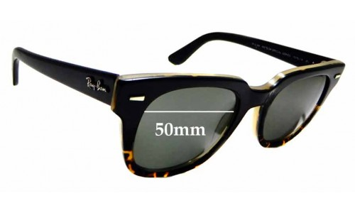 Sunglass Fix Sunglass Replacement Lenses for Ray Ban Meteor Special Series RB4168 - 50mm wide
