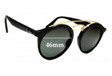 Sunglass Fix Sunglass Replacement Lenses for Ray Ban RB4256 Small - 46mm Wide