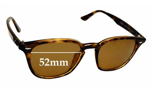 Sunglass Fix Sunglass Replacement Lenses for Ray Ban RB4258-F - 52mm wide