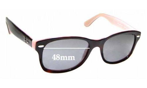 Sunglass Fix Sunglass Replacement Lenses for Ray Ban RB1528 - 48mm wide