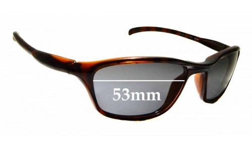 Sunglass Fix Sunglass Replacement Lenses for Ray Ban Cutters RB2046 - 53mm Wide