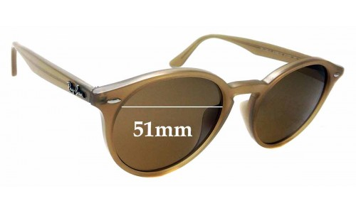 Sunglass Fix Sunglass Replacement Lenses for Ray Ban RB2180 - F - 51mm wide