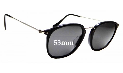 Sunglass Fix Sunglass Replacement Lenses for Ray Ban RB2448-N-F - 53mm wide