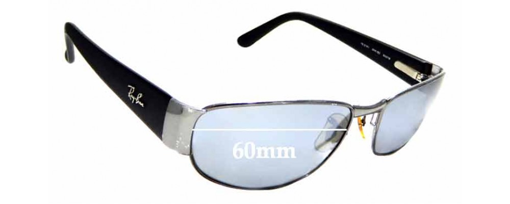 Sunglass Fix Sunglass Replacement Lenses for Ray Ban RB3141 - 60mm Wide
