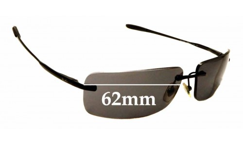 Sunglass Fix Sunglass Replacement Lenses for Ray Ban RB3344 - 62mm Wide