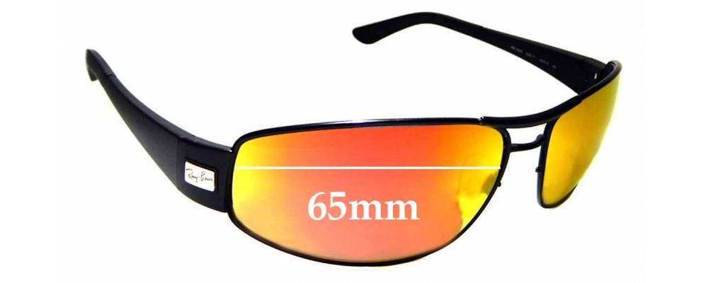 Sunglass Fix Sunglass Replacement Lenses for Ray Ban RB3395 - 65mm Wide