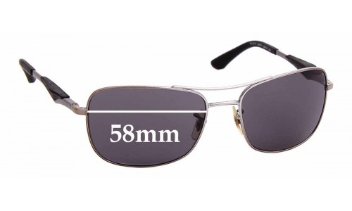 Sunglass Fix Sunglass Replacement Lenses for Ray Ban RB3515 - 58mm Wide