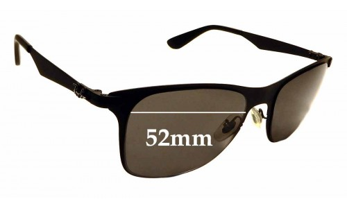 Sunglass Fix Sunglass Replacement Lenses for Ray Ban RB3521 - 52mm Wide