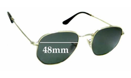 Sunglass Fix Sunglass Replacement Lenses for Ray Ban RB3548-N - 48mm Wide