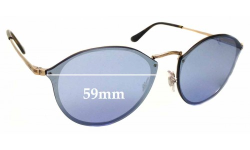 Sunglass Fix Sunglass Replacement Lenses for Ray Ban RB3574-N - 59mm across