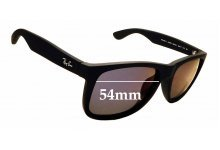 Sunglass Fix Sunglass Replacement Lenses for Ray Ban RB4165-F Justin - 54mm Wide           *Please measure as there are several models*