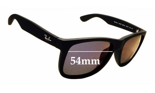 Sunglass Fix Sunglass Replacement Lenses for Ray Ban RB4165-F Justin - 54mm wide