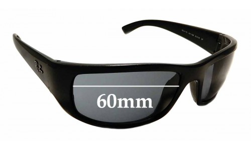Sunglass Fix Sunglass Replacement Lenses for Ray Ban RB4176 - 60mm wide