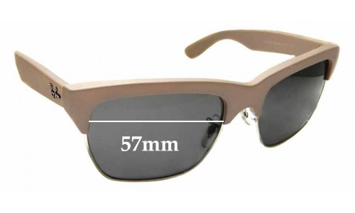 Sunglass Fix Sunglass Replacement Lenses for Ray Ban RB 4186 - 57mm wide