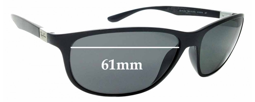 1738a3fc92aad Sunglass Fix Sunglass Replacement Lenses for Ray Ban 4213 Liteforce - 61mm  wide