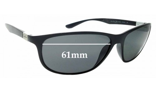 Sunglass Fix Sunglass Replacement Lenses for Ray Ban Liteforce RB4213 - 61mm Wide