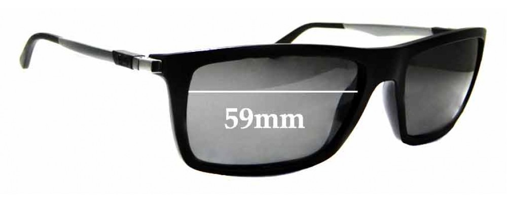 Sunglass Fix Sunglass Replacement Lenses for Ray Ban RB4214 - 59mm Wide