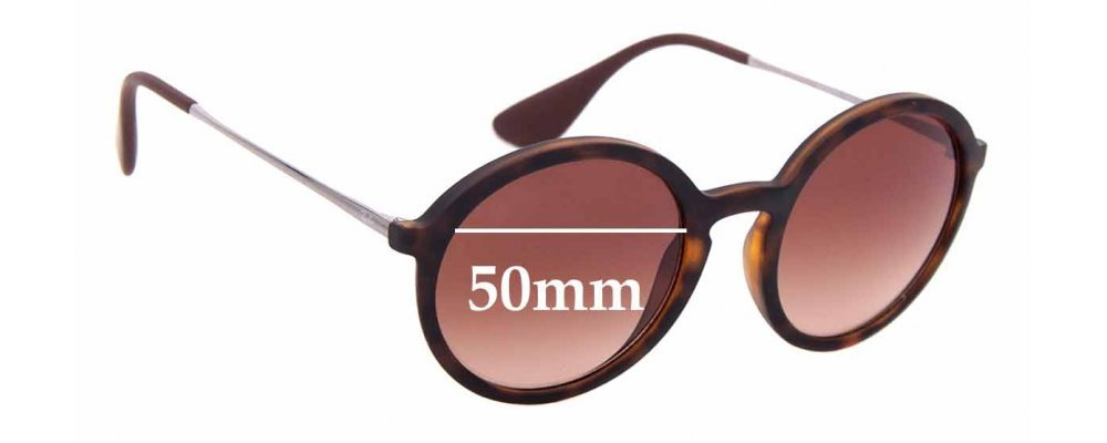 Sunglass Fix Sunglass Replacement Lenses for Ray Ban RB4222 - 50mm Wide