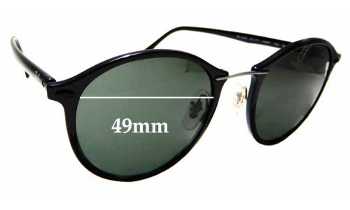 Sunglass Fix Sunglass Replacement Lenses for Ray Ban RB4242 - 49mm wide