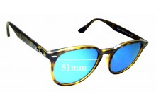 Sunglass Fix Sunglass Replacement Lenses for Ray Ban RB4259 - 51mm Wide *Please measure as there are several models*