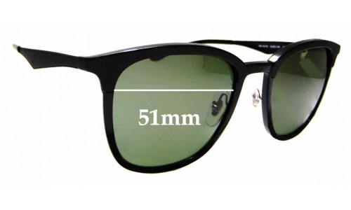 Sunglass Fix Sunglass Replacement Lenses for Ray Ban RB4278 - 51mm wide