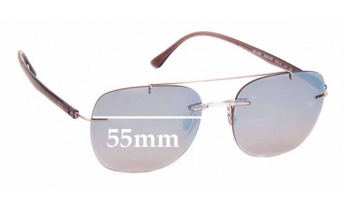 Sunglass Fix Sunglass Replacement Lenses for Ray Ban RB4280 - 55mm wide ** The Sunglass Fix Cannot Provide Lenses For This Model Sorry**