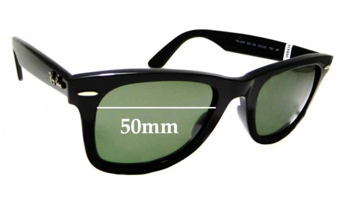 Sunglass Fix Sunglass Replacement Lenses for Ray Ban RB4340 - 50mm wide