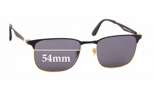 Sunglass Fix Sunglass Replacement Lenses for Ray Ban RB6363 - 54mm wide