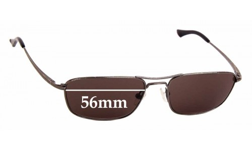 Sunglass Fix Sunglass Replacement Lenses for Ray Ban RB8018 Orbs - 56mm Wide
