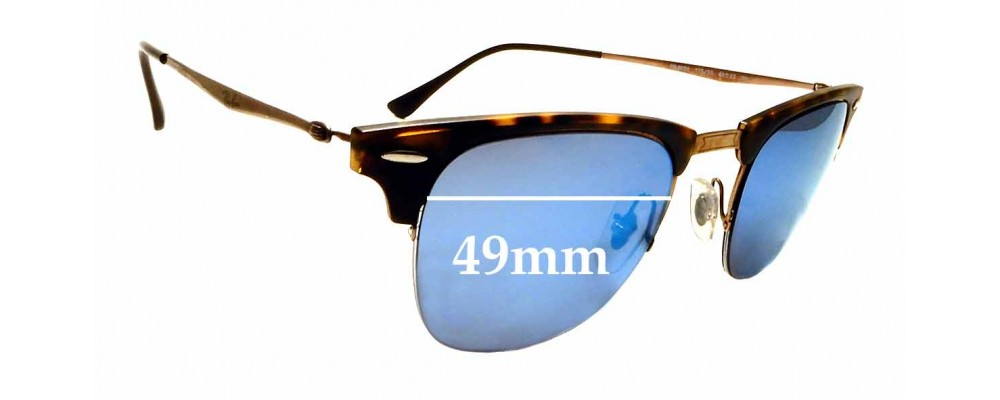 Sunglass Fix Sunglass Replacement Lenses for Ray Ban RB8056 - 49mm Wide