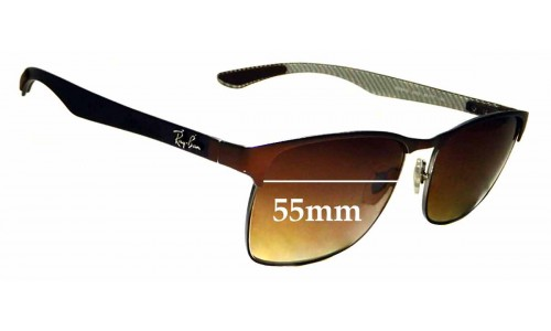 Sunglass Fix Sunglass Replacement Lenses for Ray Ban RB8416 - 55mm wide