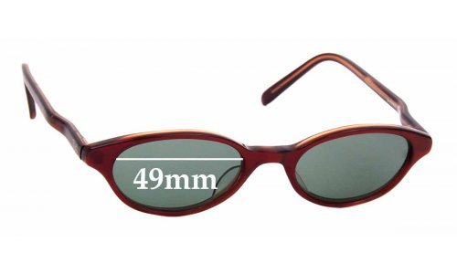 Sunglass Fix Sunglass Replacement Lenses for Ray Ban W3299 -  49mm wide