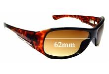 Sunglass Fix Sunglass Replacement Lenses for Reef Joaquina - 62mm Wide