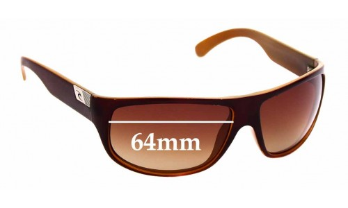 Sunglass Fix Sunglass Replacement Lenses for Rip Curl Ventura  - 64mm Wide