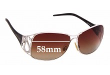 Sunglass Fix Sunglass Replacement Lenses for Roberto Cavalli Calipso 190S - 58mm Wide