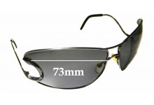 Sunglass Fix Sunglass Replacement Lenses for Roberto Cavalli Divina 71S - 71mm Wide