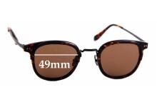 Sunglass Fix Sunglass Replacement Lenses for Rodd & Gunn St. Andrews - 49mm Wide