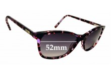 Sunglass Fix Sunglass Replacement Lenses for Roxy ROXY 51 - 52mm Wide