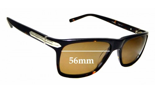 Sunglass Fix Sunglass Replacement Lenses for S.T. Dupont ST008 - 56mm Wide
